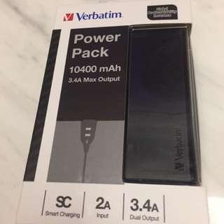 10400 mAh 黑色外置充電電池(最後一件)