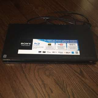Sony Blue-ray CD/DVD Player