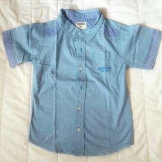 OSHKOSH Baby Blue Shirt