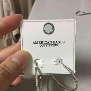 A&F全新耳環