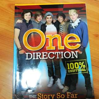 One Direction The Story So Far