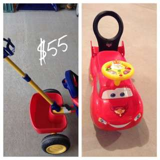 Toddler Bike And Ride On