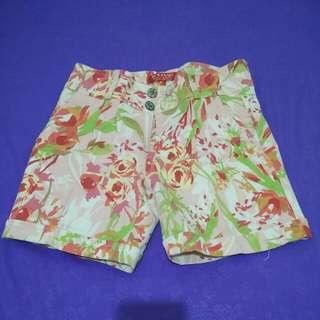 Flower Hot Pants Size S