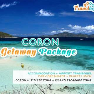 Coron Package (Excluding Airfare)