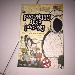 Novel Pocong Juga Poconggg