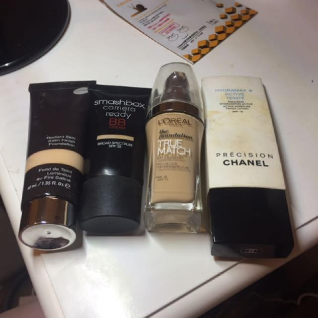4 Face Product $35 Chanel, Becca And Smashbox