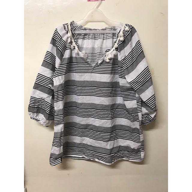 39-條紋上衣