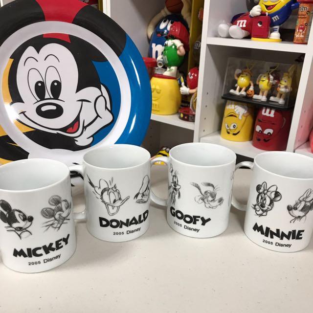 迪士尼素描紀念杯