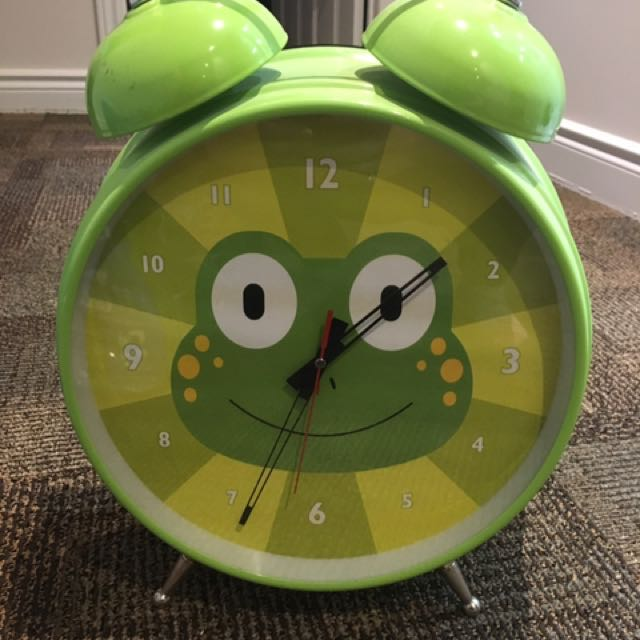 Adorable Floor Clock For Kids Bedroom