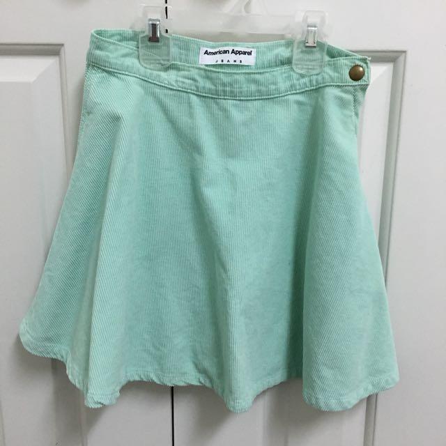 **REDUCED** American Apparel Corduroy Skirt
