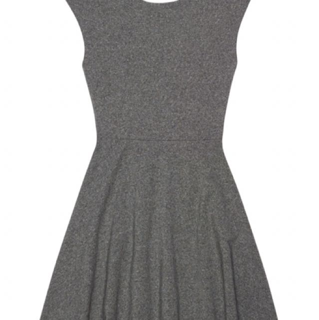 Aritzia Grey Palmetto Talula Dress