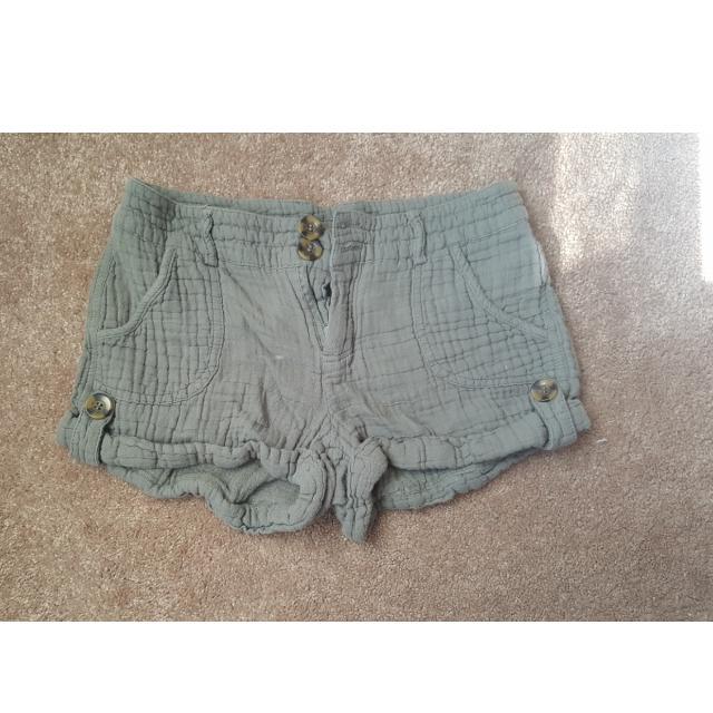 Army Green Comfy Shorts