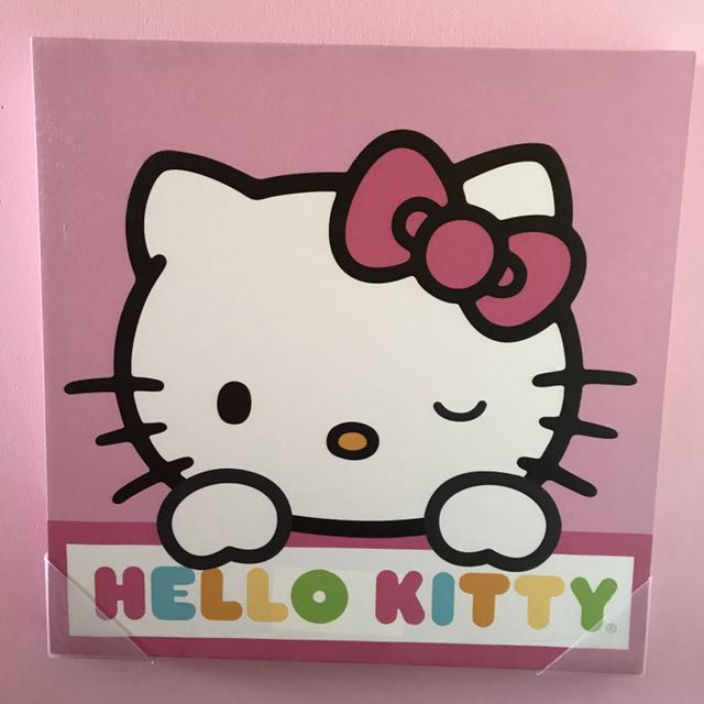Authentic Sanrio Hello Kitty Canvas Prints Lot