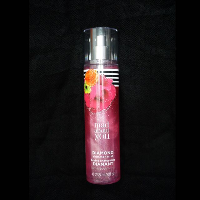 """Bath And Body Works """"Mad About You"""" Diamond Shimmer Mist"""