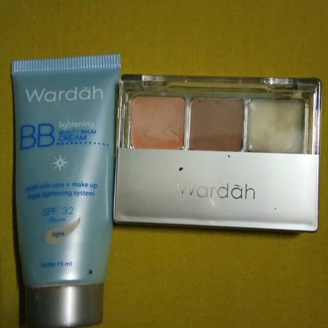 Bb Cream Wardah Dan Double Function Kit Wardah