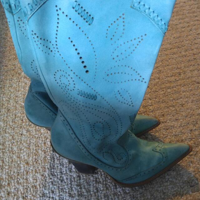 Bcb Girls Cowboy Boots 7.5