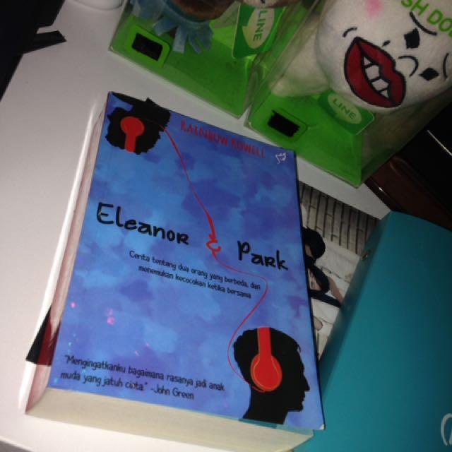 Best Seller Novel Eleanor & Park (in bahasa)
