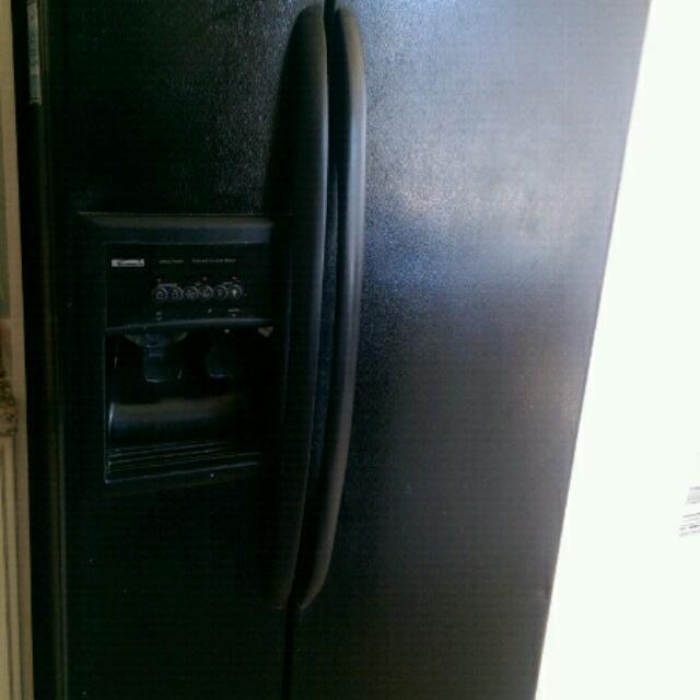 Black Refrigerator