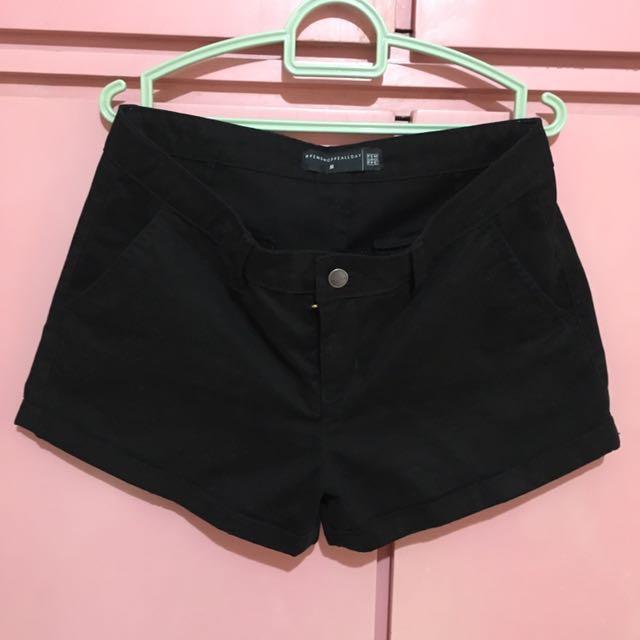 Black Penshoppe Shorts