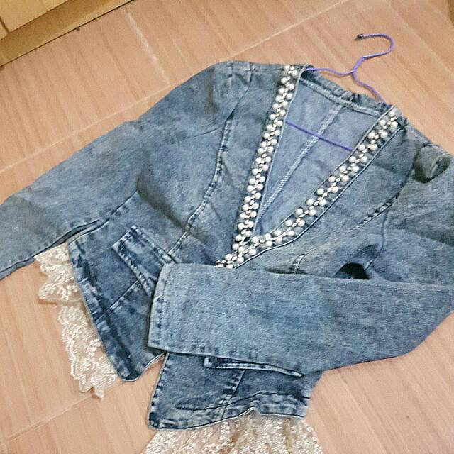 Blazer Korea Jeans