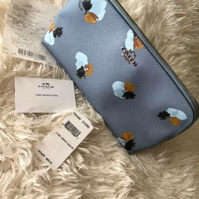 BNWT AUTHENTIC COACH POUCH