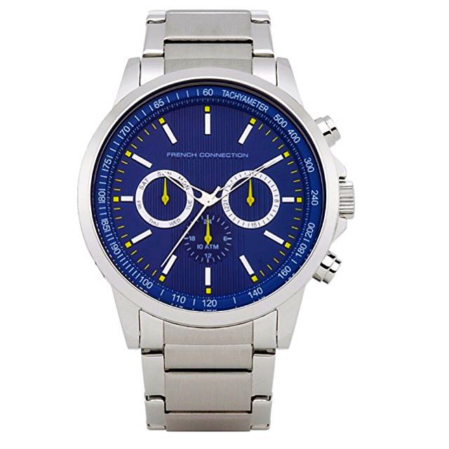 Brand New FCUK Stainless Steel Chronograph Watch