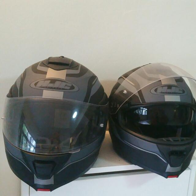 384fb227 Brand New Full-face Helmets With Internal Sun Visor (Size L)(Sold As ...