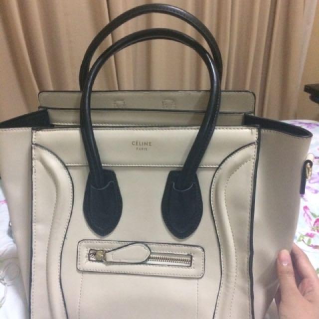 Celine white bag (not ori)