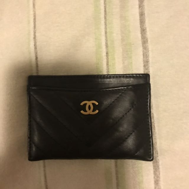 Chanel card case