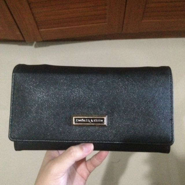 Charles & Keith Leather Wallet