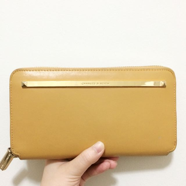 Charles & Keith Travel Wallet