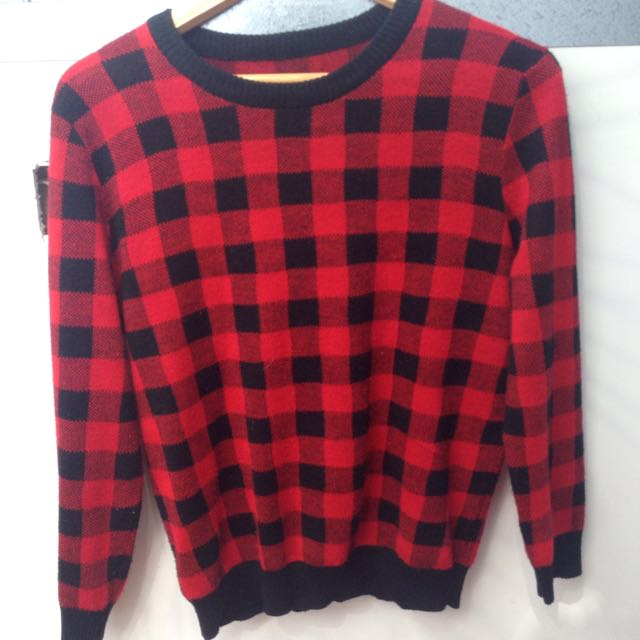 Checked Jumper