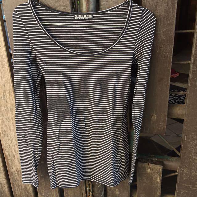 Cotton On Longsleeve Stretch Shirt