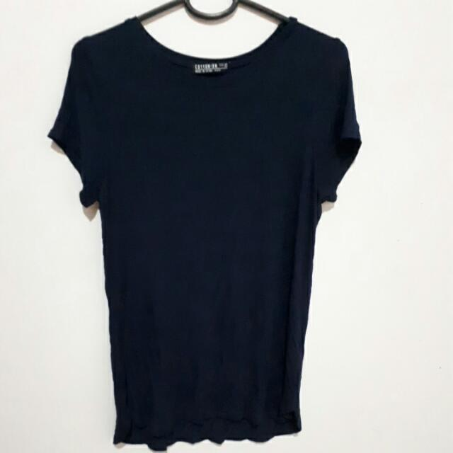Cotton On Navy Tshirt