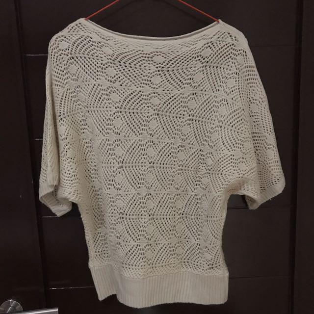 Cream Sweater Handmade