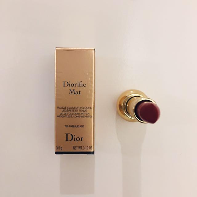 Dior迪奧粉霧絲絨唇膏口紅750