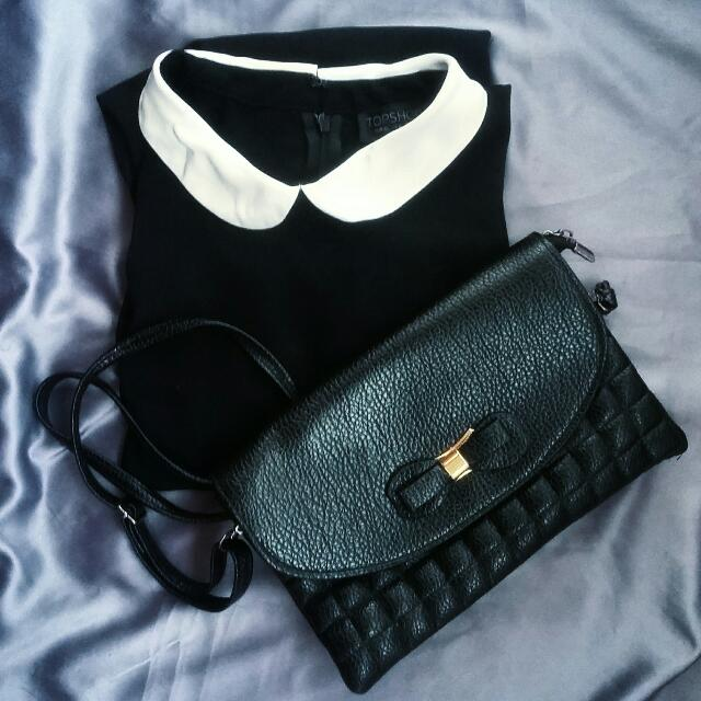 Dress Topshop+Slingbag