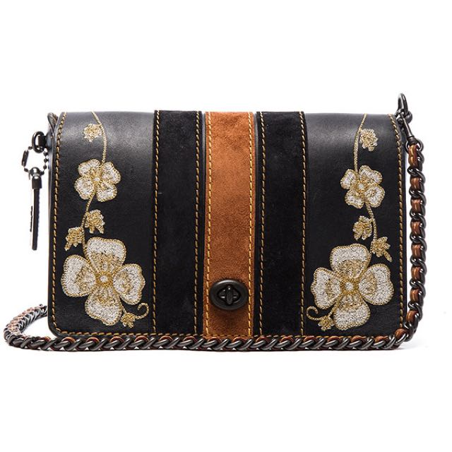 Embroidery Dinky Bag