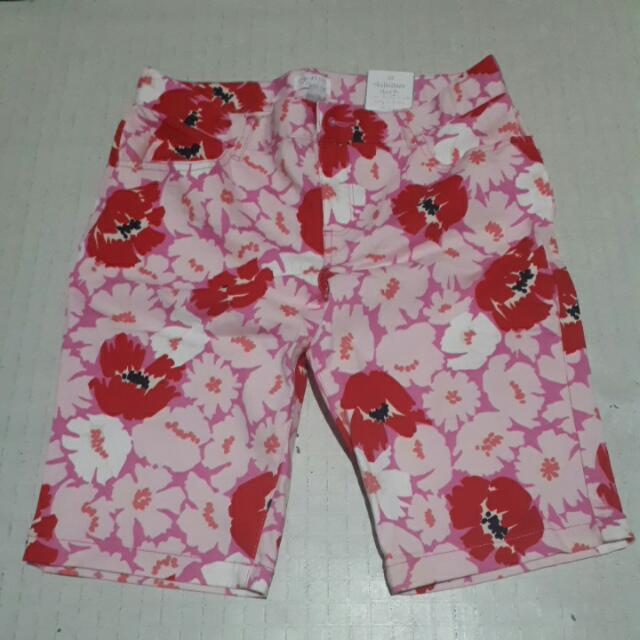 Floral Skimmer Shorts (Pedals)