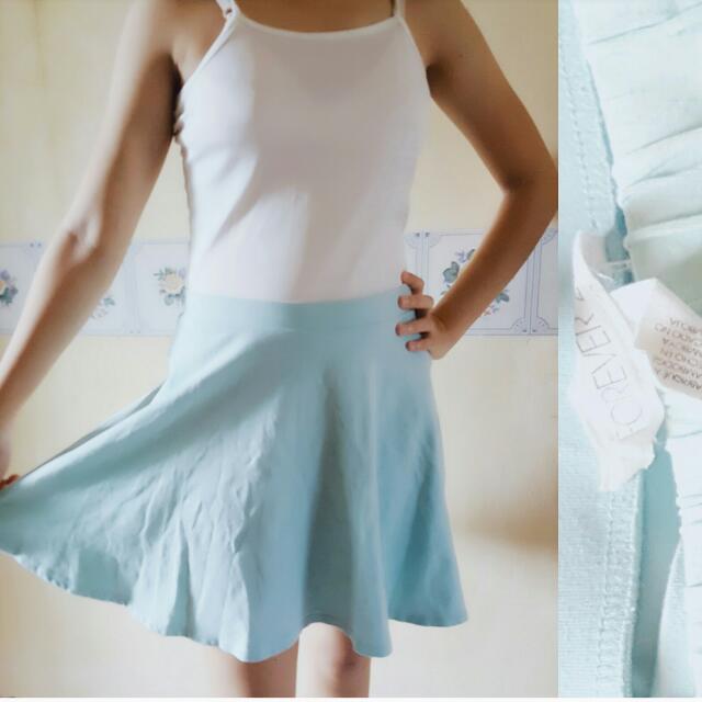 Forever 21 Teal Skirt