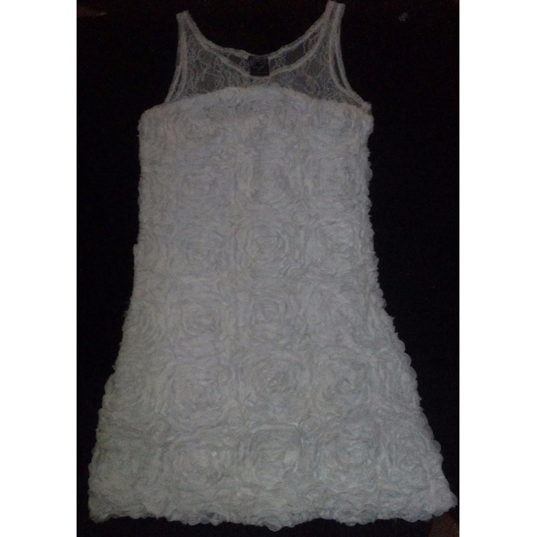 Freeway Mini White Dress