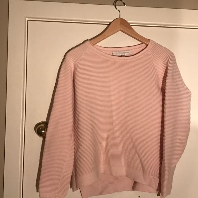 FRENCH CONNECTION Baby Pink Jumper