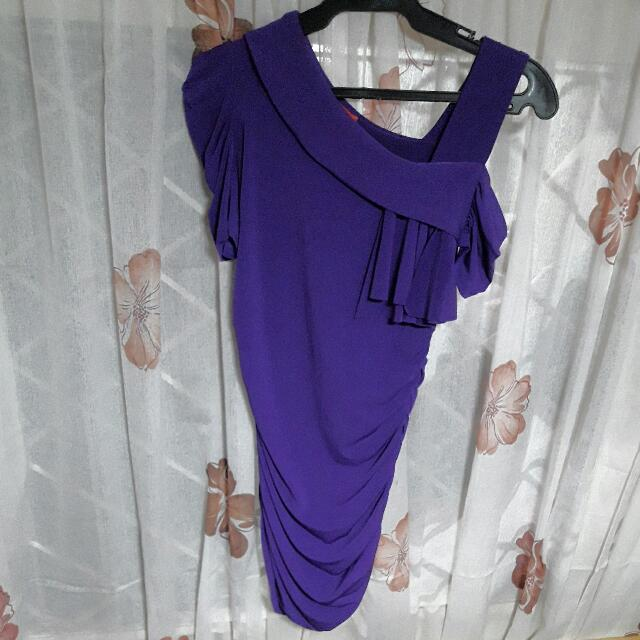 Get Laud purple dress