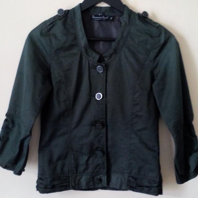 Green Army Jacket