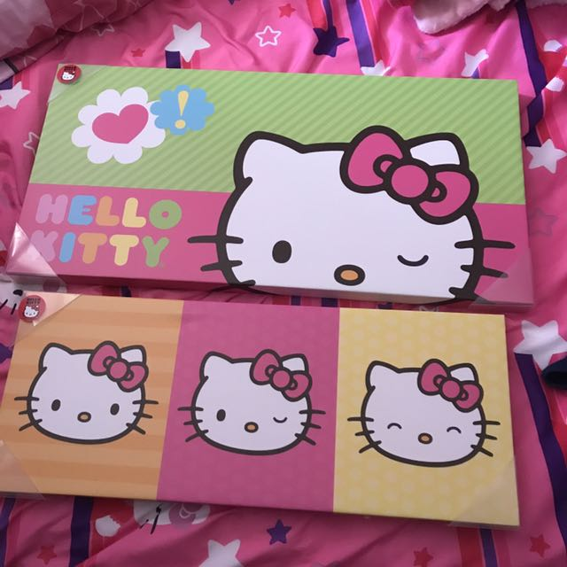 Hello Kitty Canvas Prints Lot
