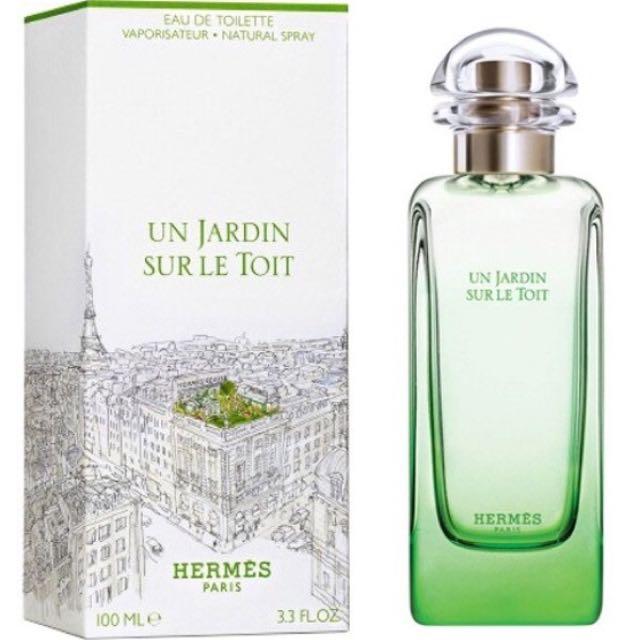 Hermes Un Jardin Sur Le Toit Perfume