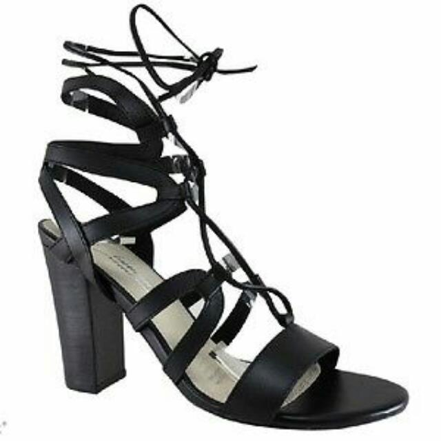 Human Premium Narelle Lace Up Heels Size 39