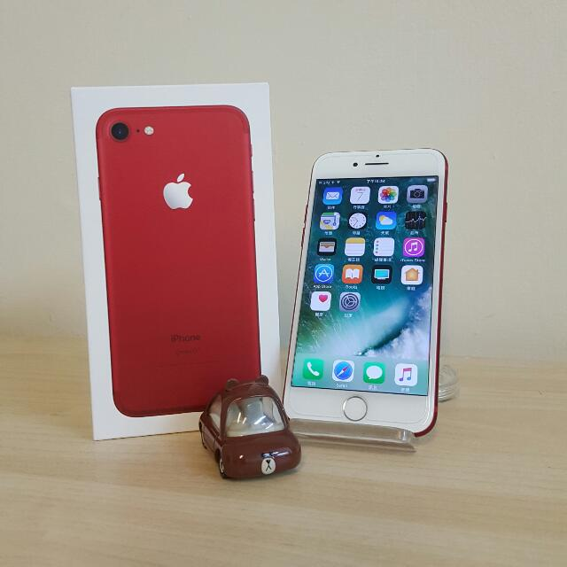 iphone7 128g Red 紅色 i7