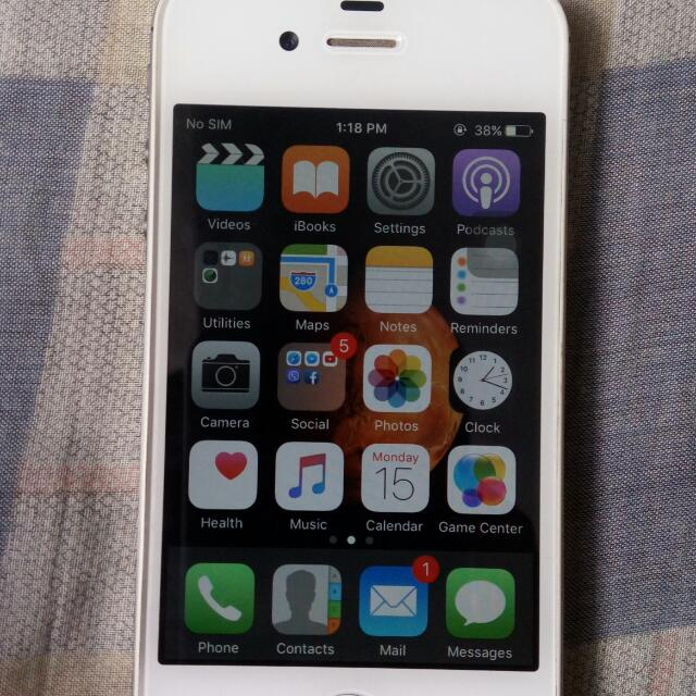 REPRICED Iphone 4s 16gb Factory Unlocked