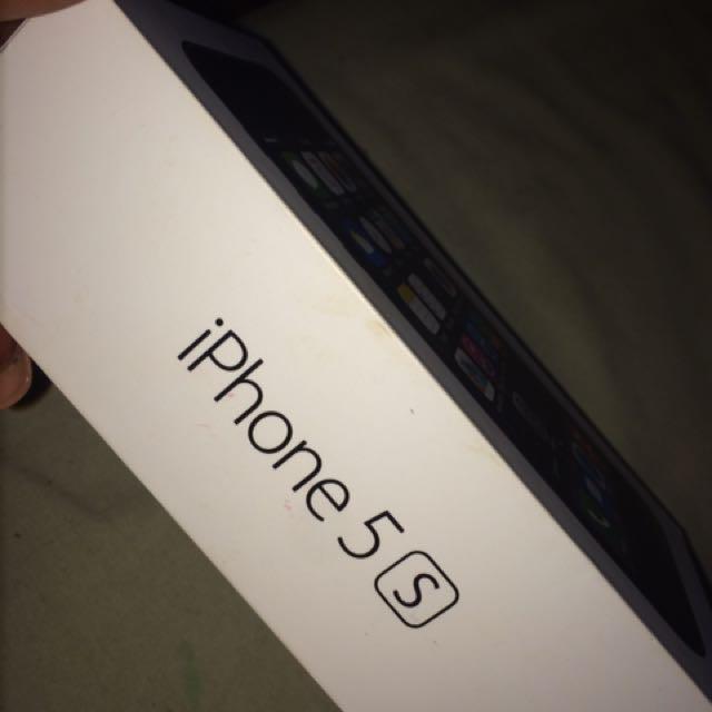 iPhone 5s Black 32G!